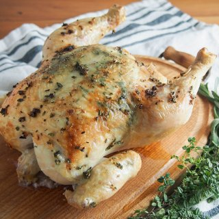 garlic herb roasted chicken