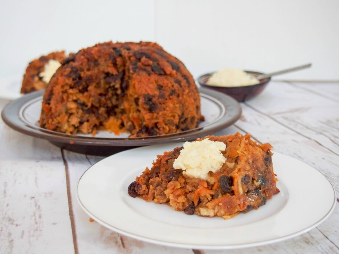 Christmas Pudding Recipe.Lighter Christmas Pudding