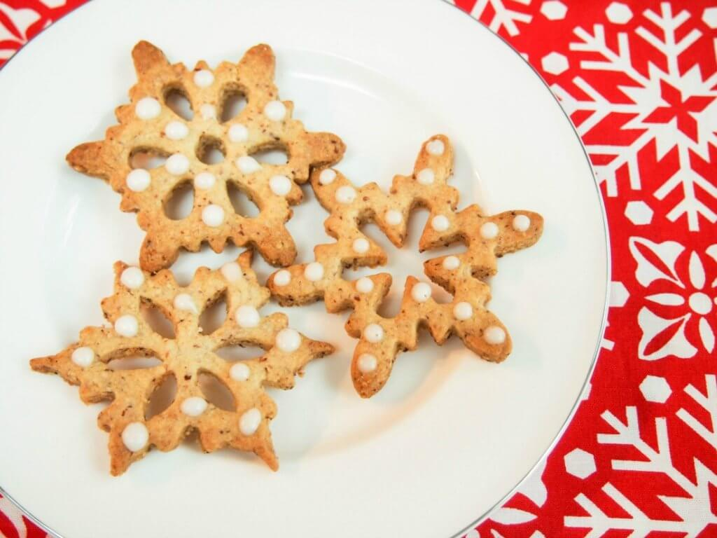 German hazelnut Christmas cookies