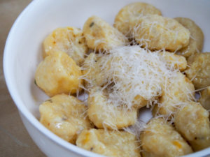 original photo for acorn squash gnocchi
