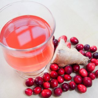 cranberry ginger cordial