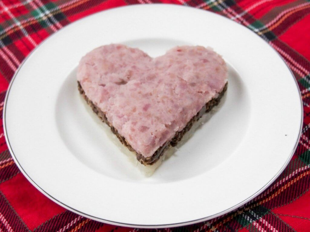 "A simplified haggis – ""my heart's in the Highlands"""