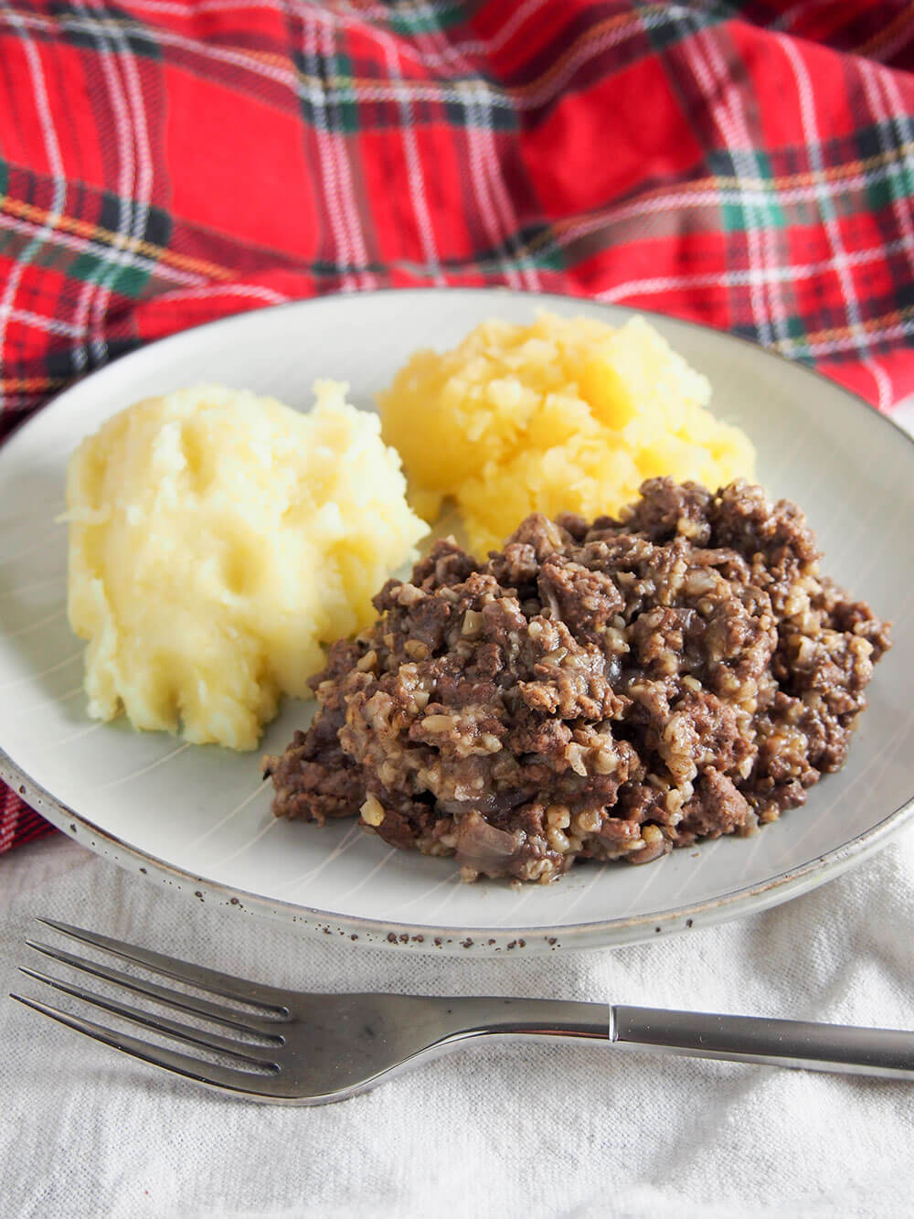 "A simplified haggis - ""my heart's in the Highlands ..."
