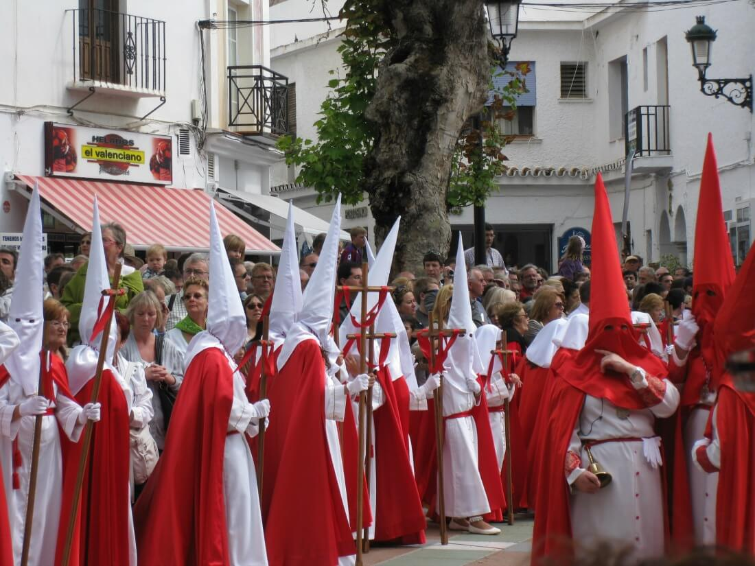 processions for Easter in Spain