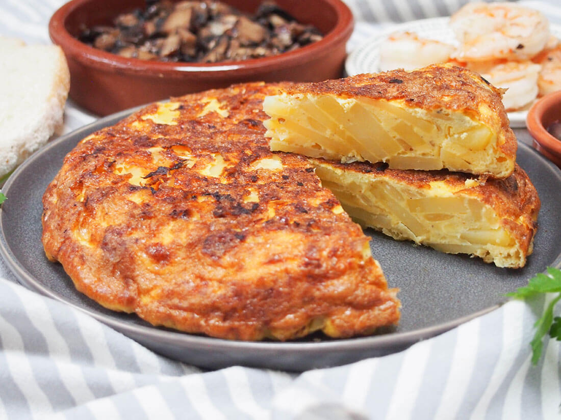 Image result for spanish tortilla