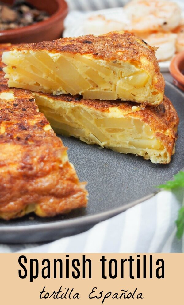 This simple yet tasty Spanish tortilla (tortilla Española) can be made with traditional potato or swap it for rutabaga for a lower carb version. It's great as part of a tapas meal, or take it on a picnic or to a party. Versatile, comforting and so good. #Spanishfood #tapas #tortilla