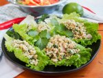 Larp (larb gai, Thai/Laos chicken salad)