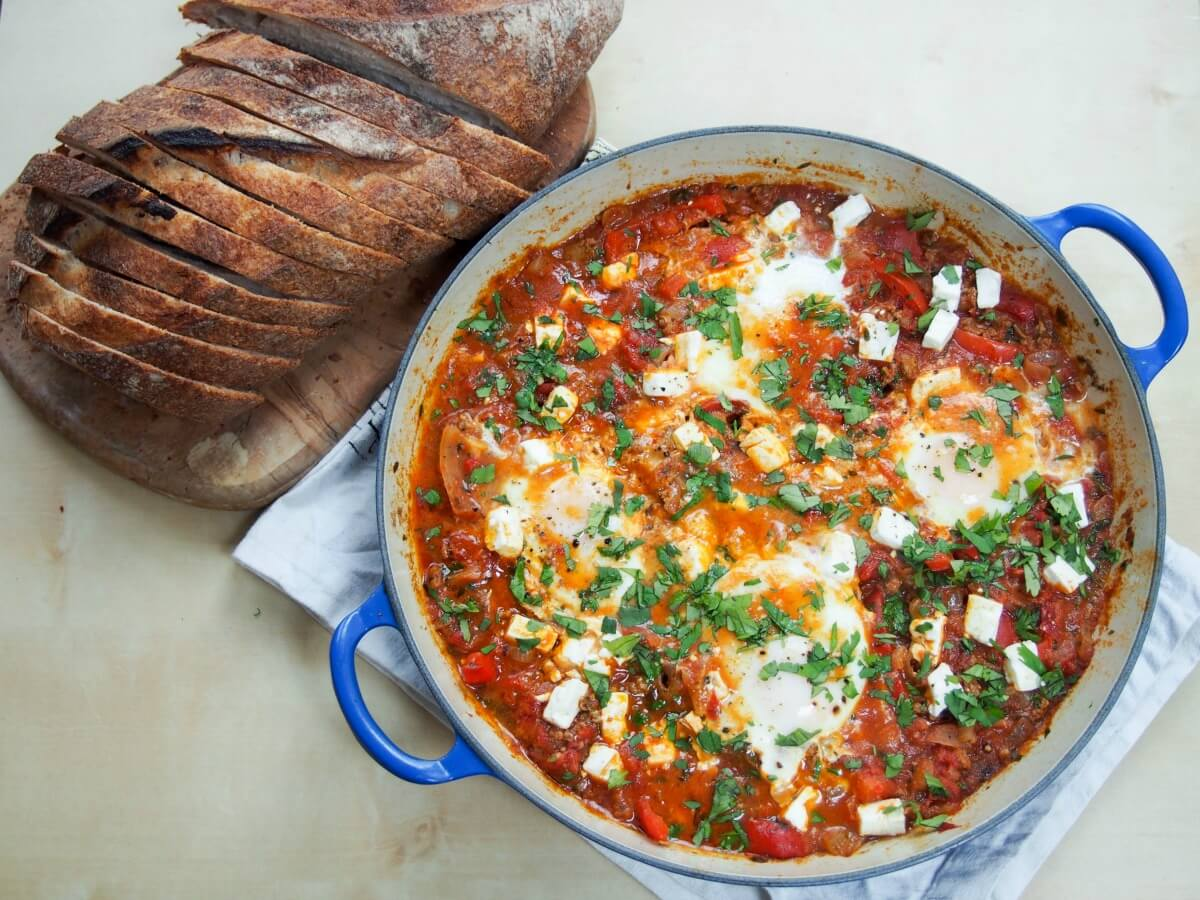 f1b399af921a beefed-up shakshuka (shakshuka with meat) - a delicious