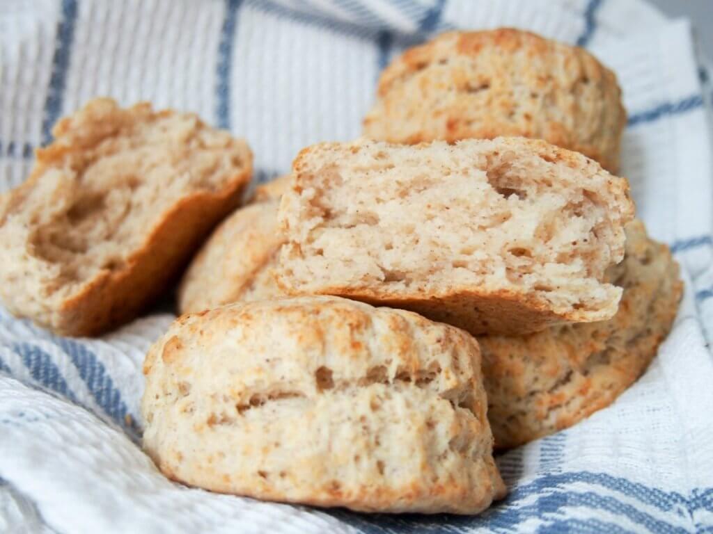 Parsnip buttermilk biscuits