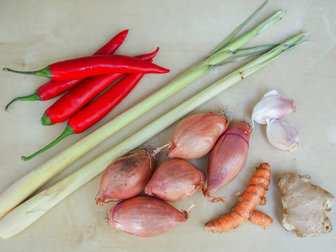 asam laksa spice paste ingredients