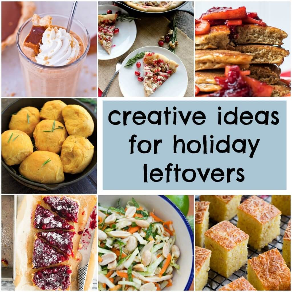 Creative ideas for holiday leftovers