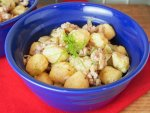 gnocchi with pork and fennel