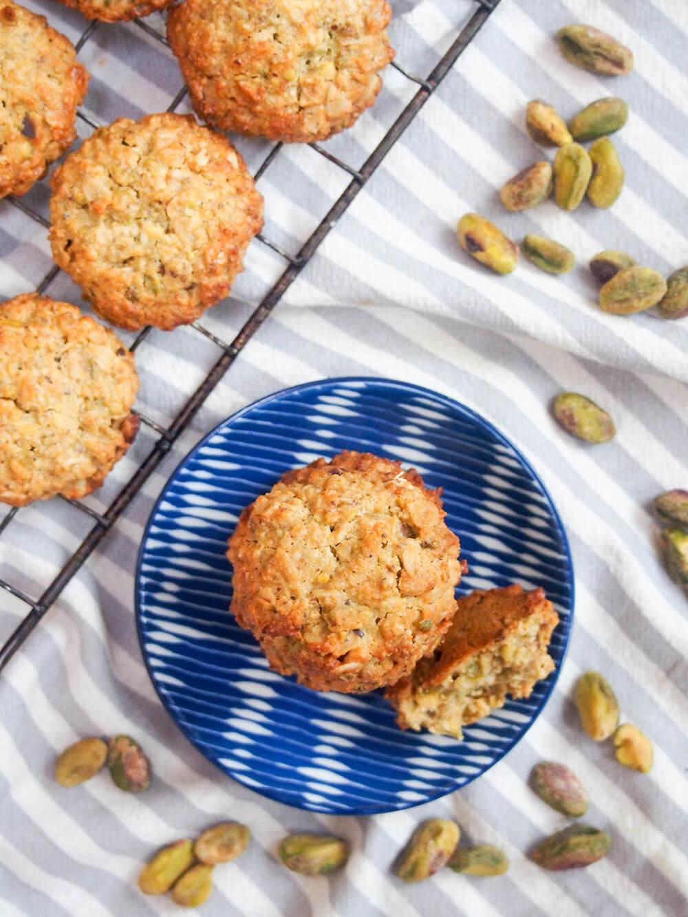 Oatmeal Pistachio Cookies Caroline S Cooking