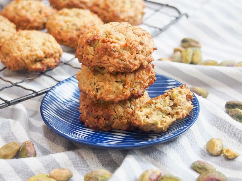 oatmeal pistachio cookies