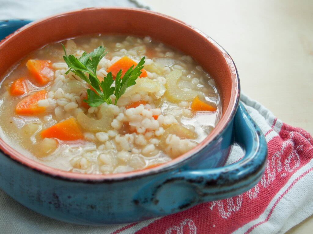 Scotch broth is Scotland's equivalent of chicken noodle soup - easy to make, warm and comforting. Just what you need to fight winter colds!