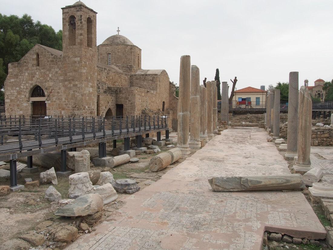 In Paphos, Cyprus