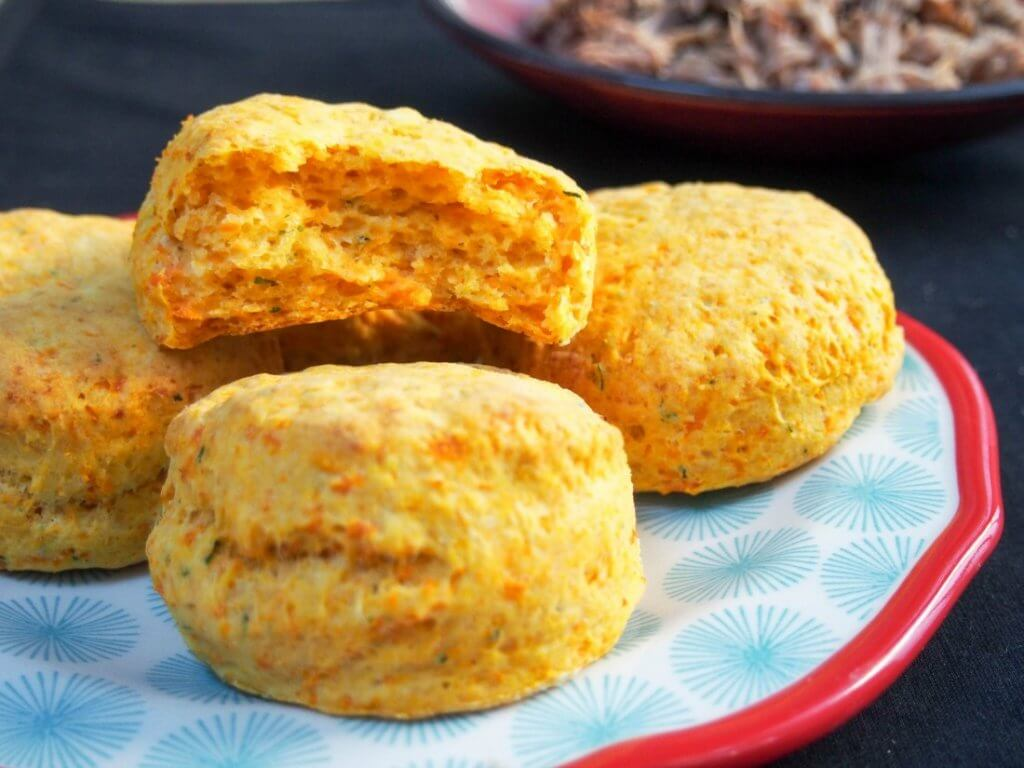 tarragon sweet potato biscuits