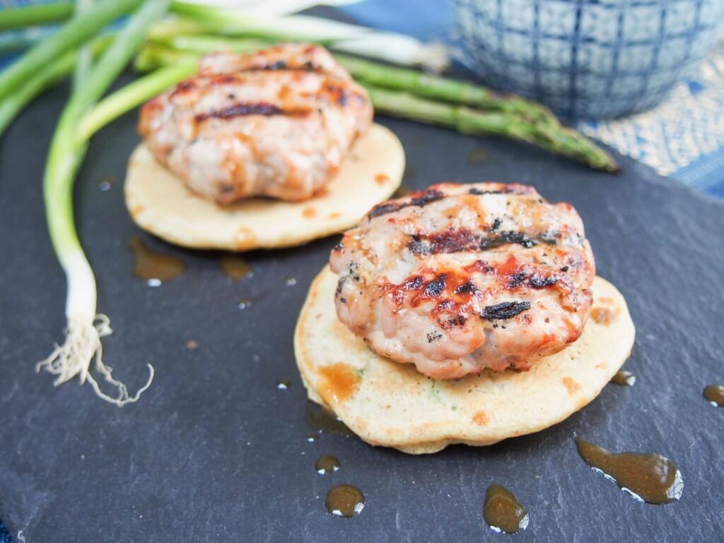 Miso tuna burgers