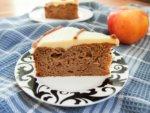 sour cream apple cake