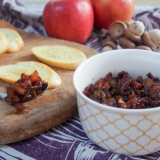 Apple bacon jam is a delicious variation on this already amazing condiment - so much flavor, it's great on appetizers or in sandwiches. Find any excuse!