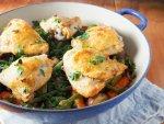 One pot lemon garlic chicken with vegetables