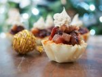 easy mini mincemeat tarts (no bake)