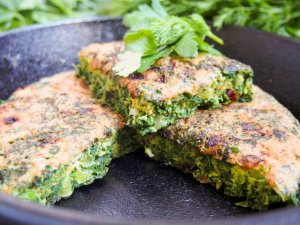 Kuku sabzi - Persian herb frittata