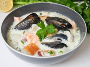 Irish fish chowder