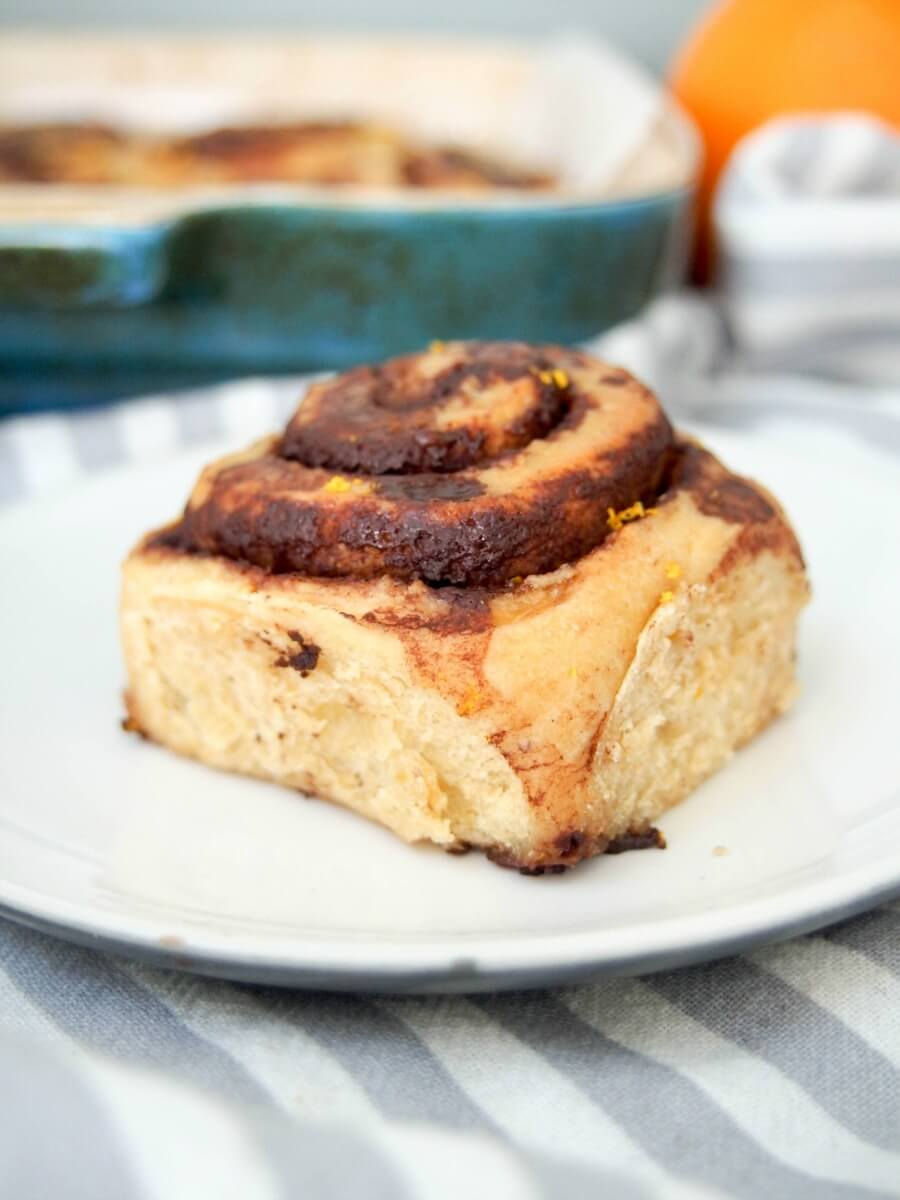 chocolate orange cinnamon rolls