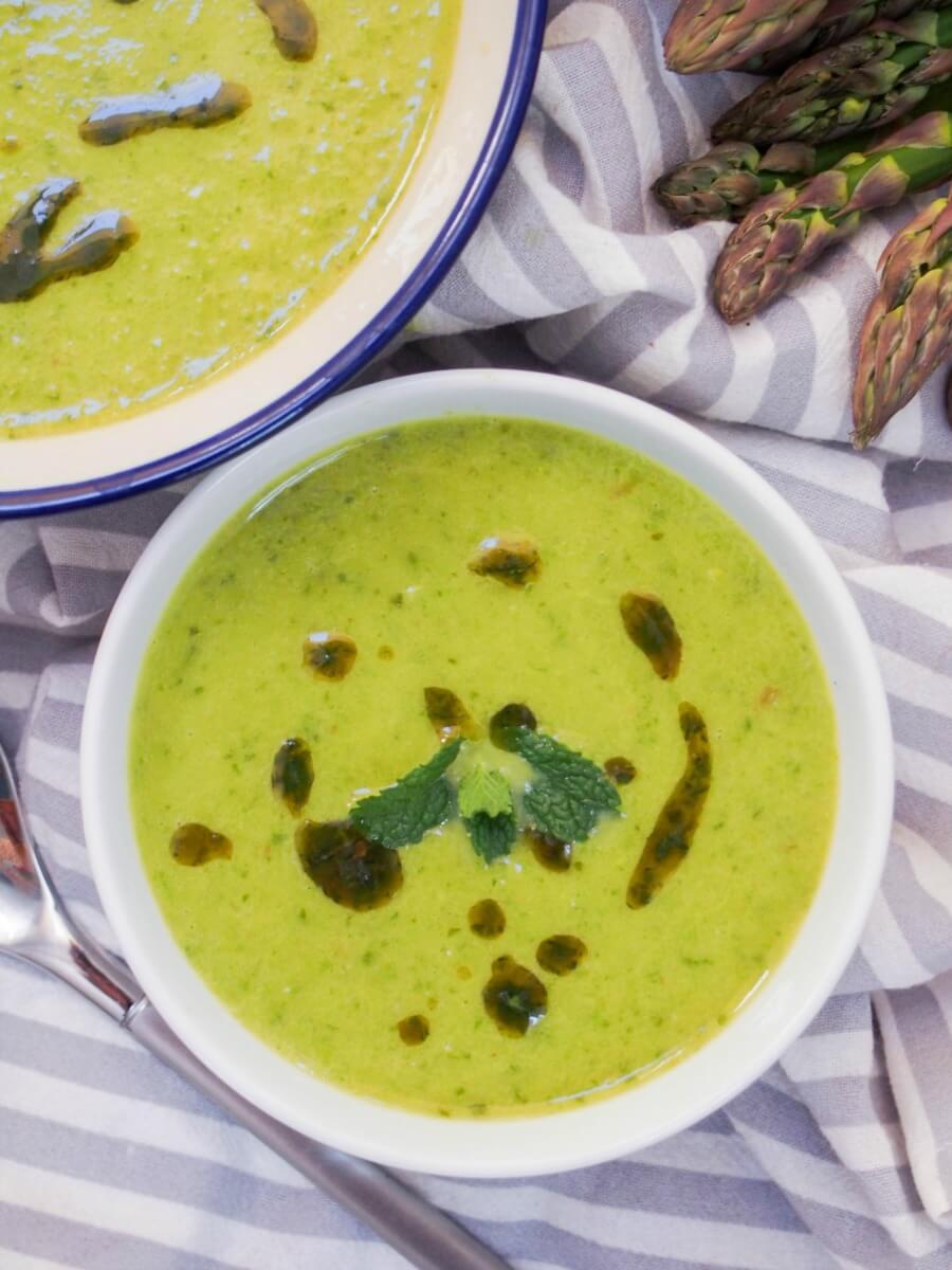 asparagus soup - light, easy and tasty!