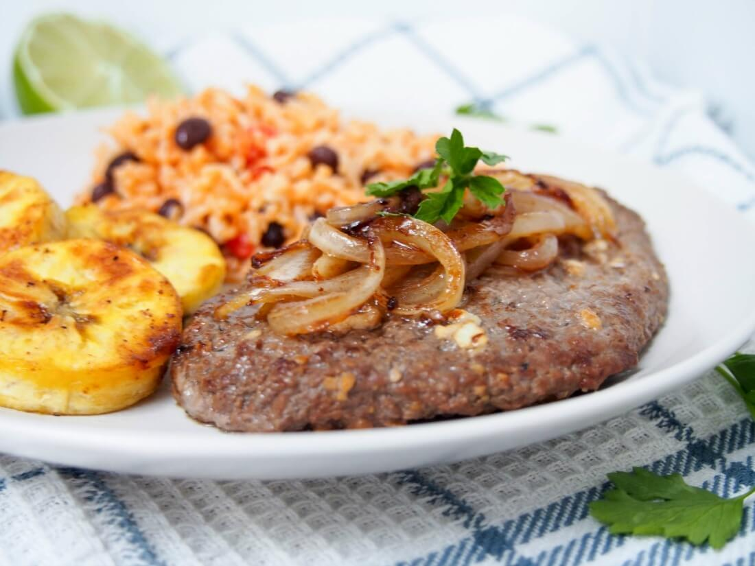 Cuban cube steak - bistec de Palomilla