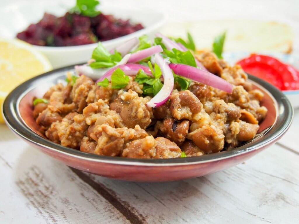 Ful medames (Egyptian fava beans)