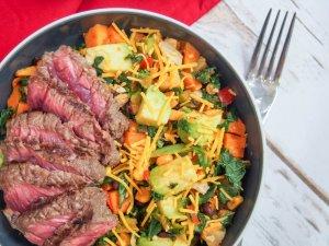 Southwest steak bowl