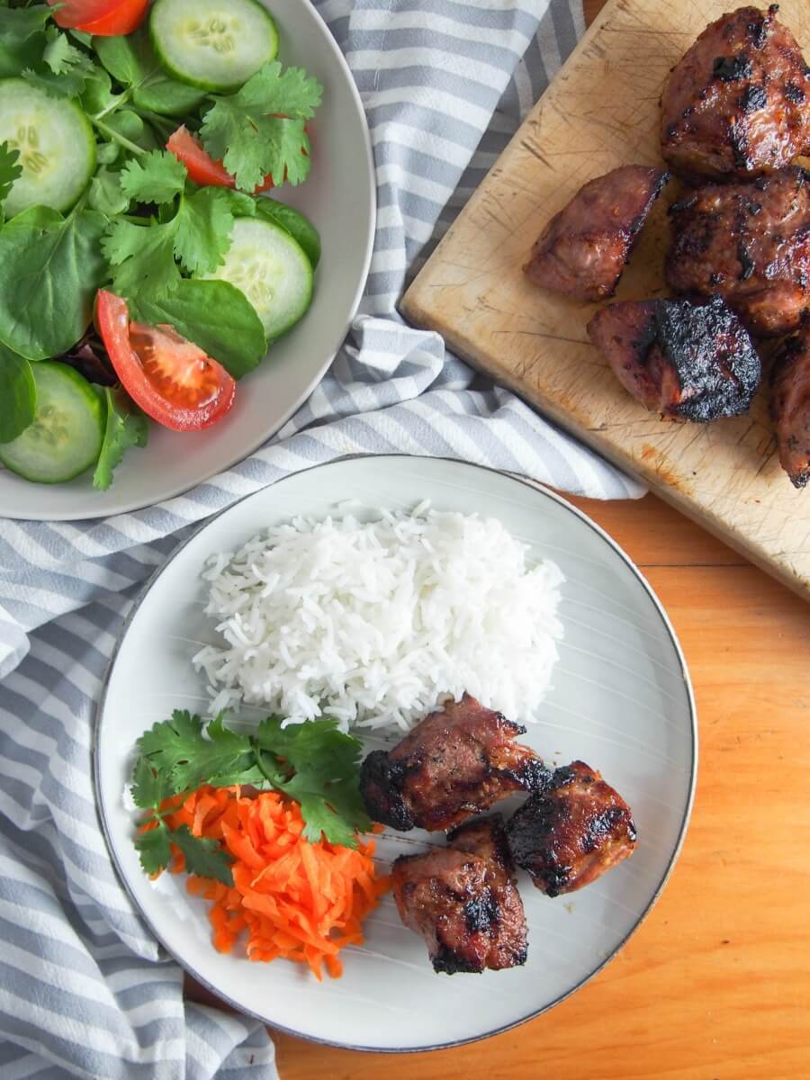 Vietnamese lemongrass pork - a deliciously flavorful easy meal