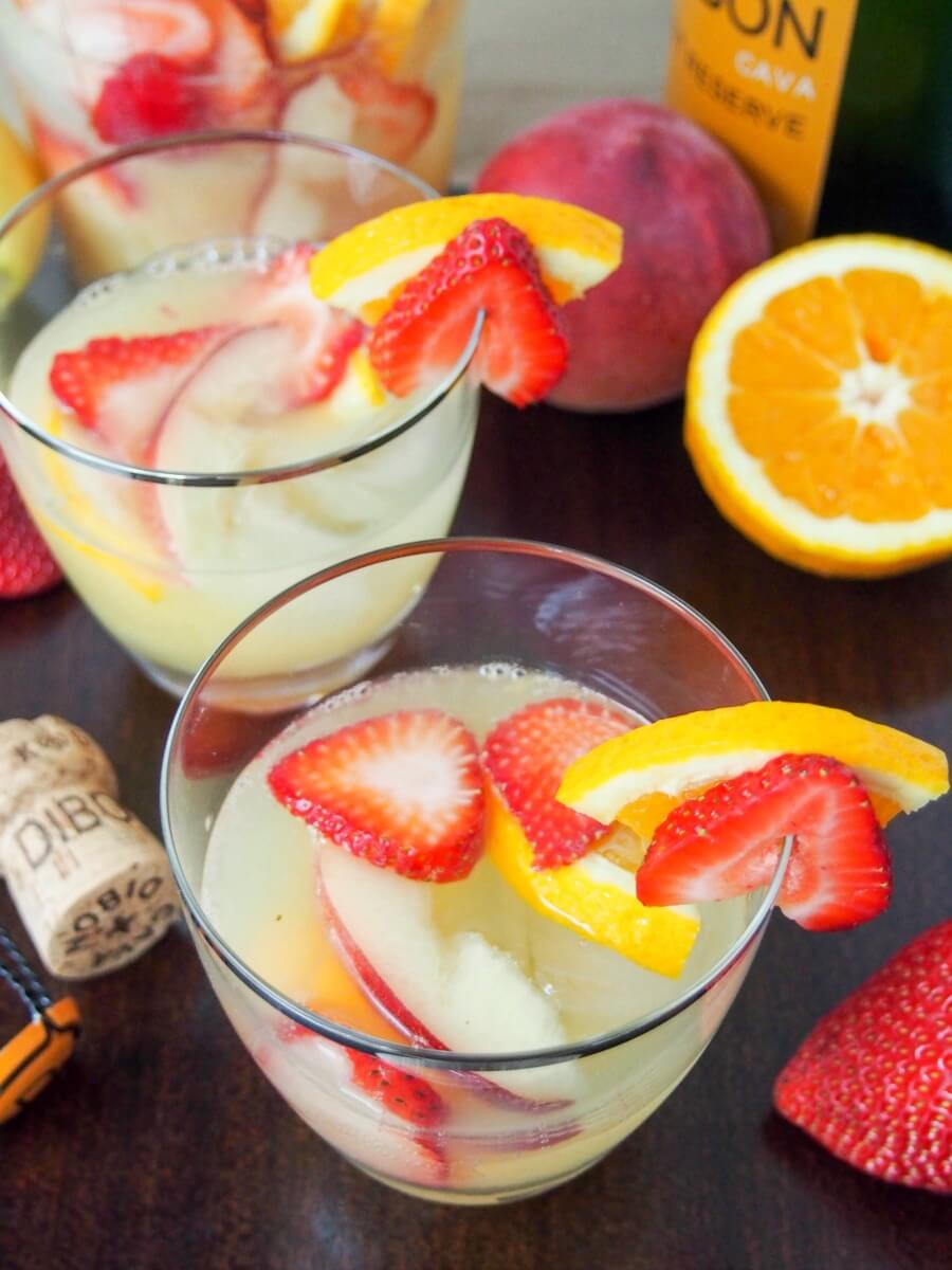 Sangria is a summer classic, but cava sangria is that bit more special. Light, refreshing and a wonderful mix of fruit and cava's bubbles. Quick to make too