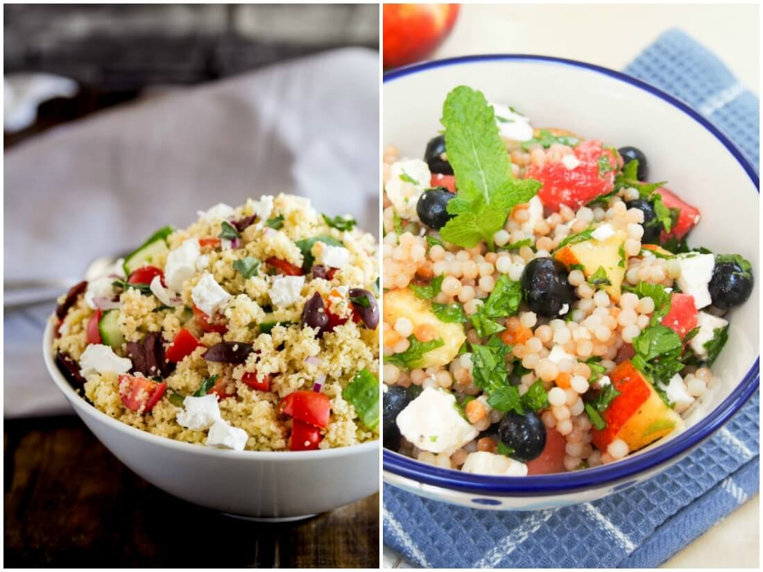 couscous salads - make ahead salads