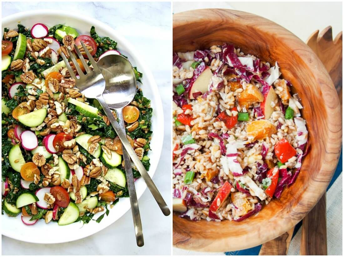 farro salads - make ahead salads