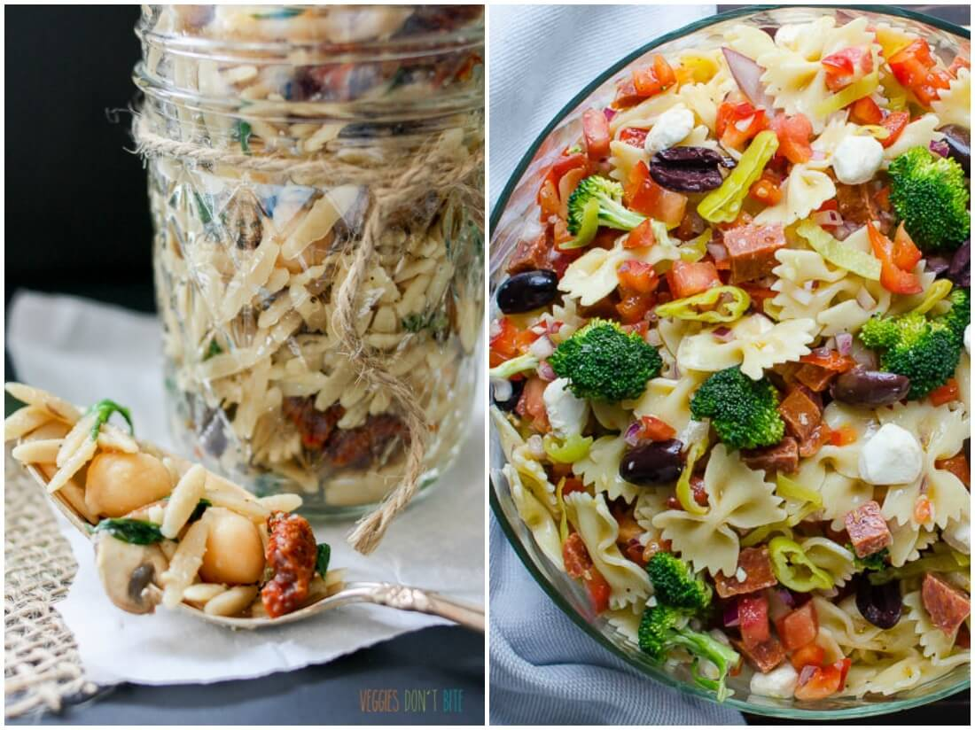 pasta salads - make ahead salads