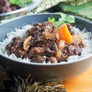 Beef massaman curry (slow cooker)