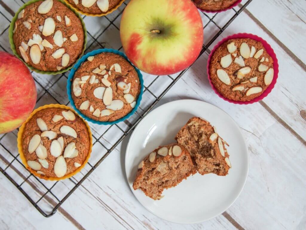 Healthy apple muffins #applweek
