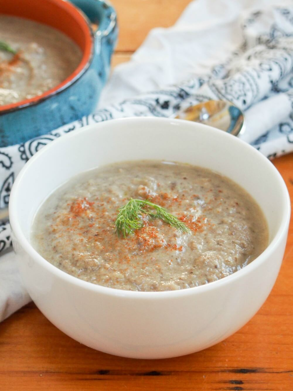 mushroom fennel soup
