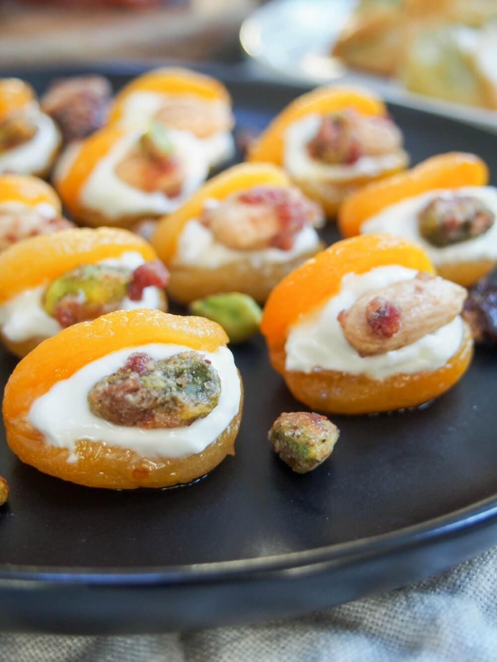Turkish-style stuffed apricots