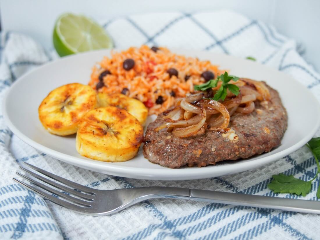 Cuban cube steak - bistec de Palomilla
