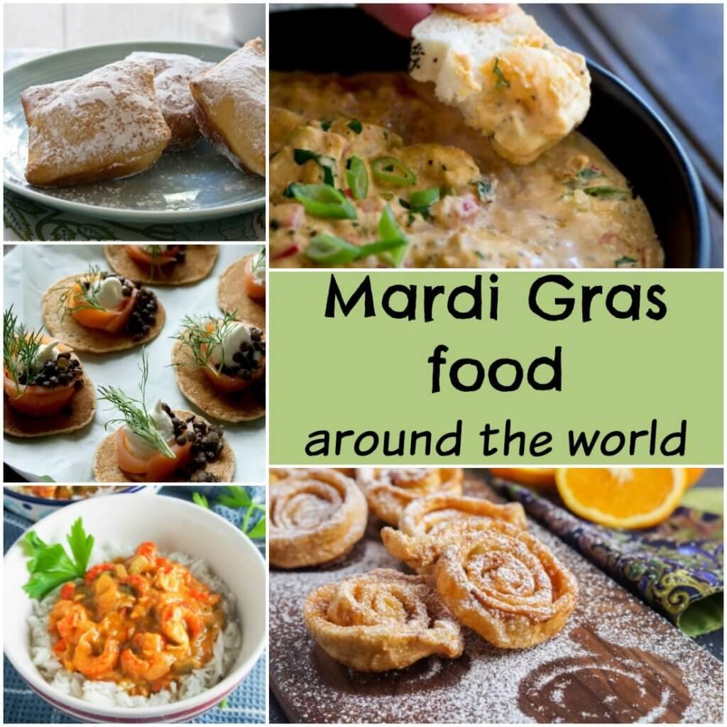 Mardi gras food around the world