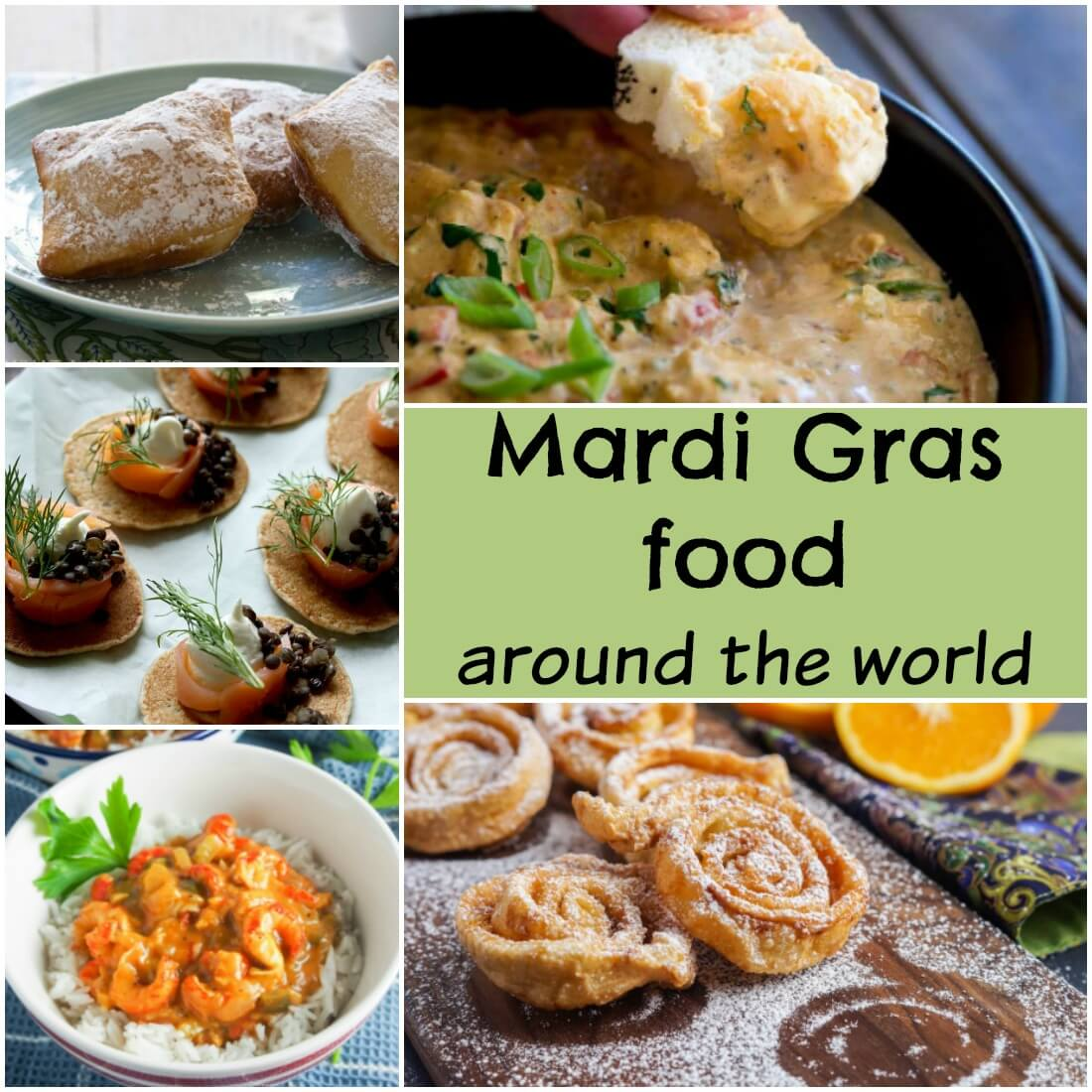 Mardi gras food around the world