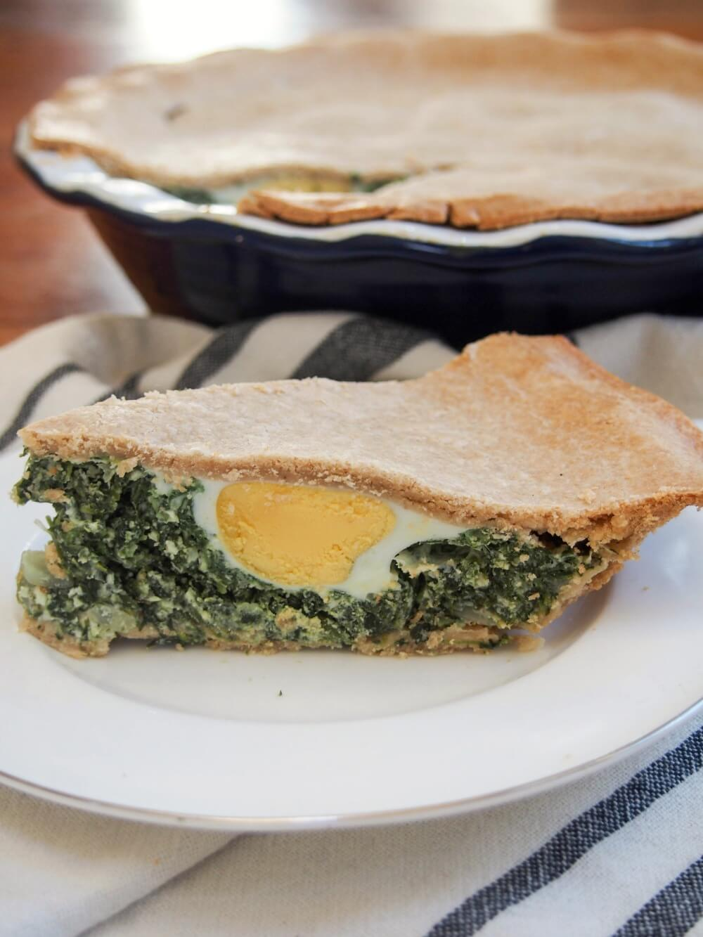 torta pascualina spinach ricotta pie