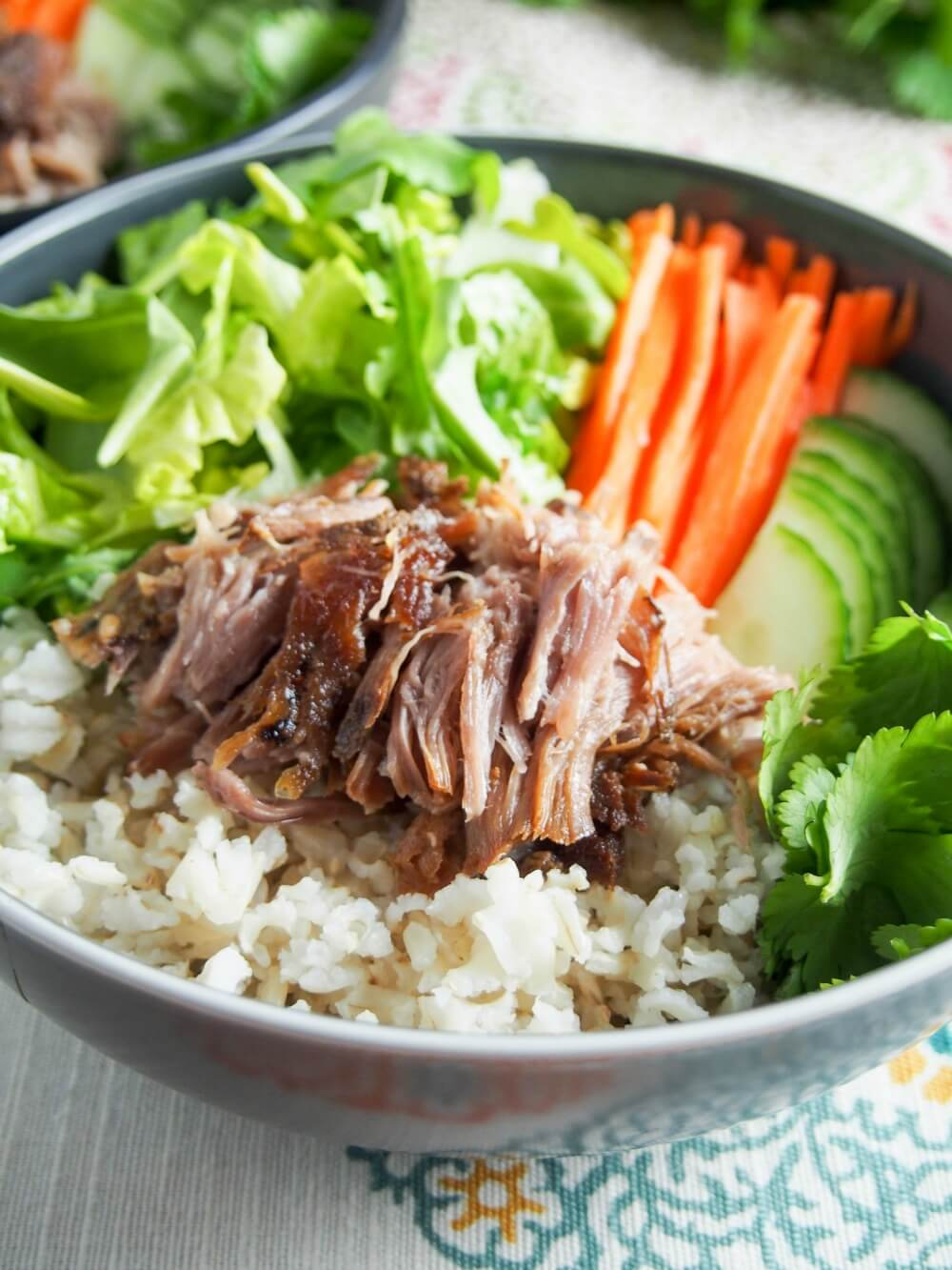 Vietnamese banh mi pork