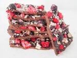 blueberry raspberry chocolate bark
