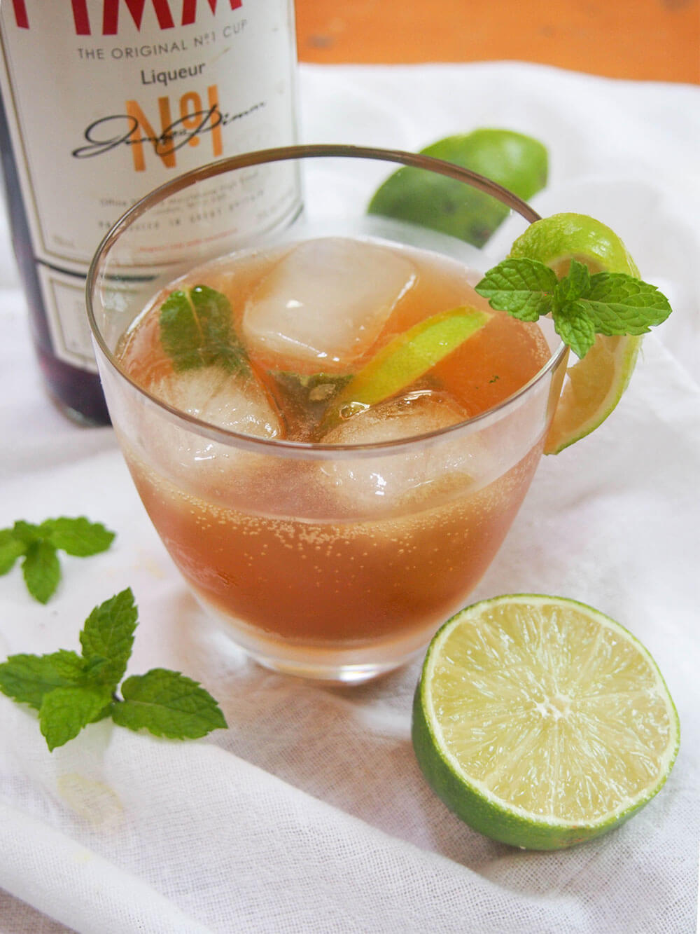 pimm's mojito - an alternative pimm's cocktail