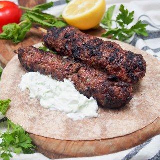 lamb kofte with cacik